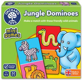 Orchard Jungle Dominoes (Vahşi Hayvanlar Mini Domino)